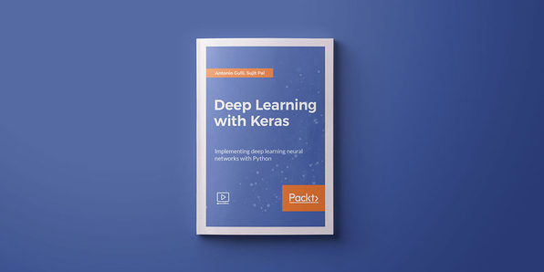Deep Learning with Keras - Product Image