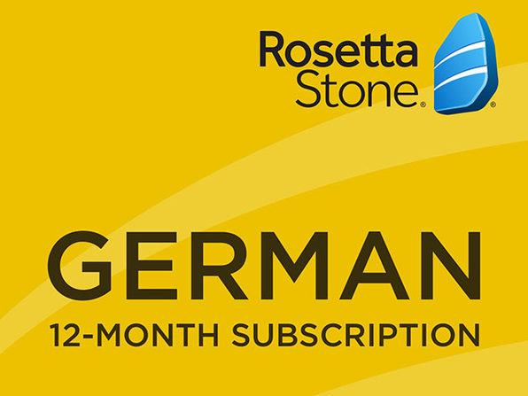 Rosetta Stone - 12 month Subscription - German - Product Image