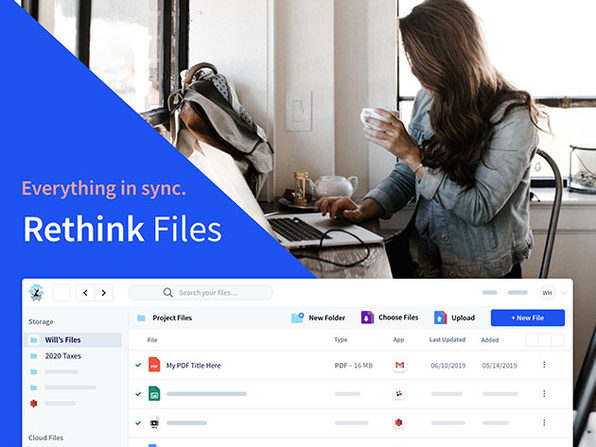 Rethink Files 2TB Cloud Storage + Organization
