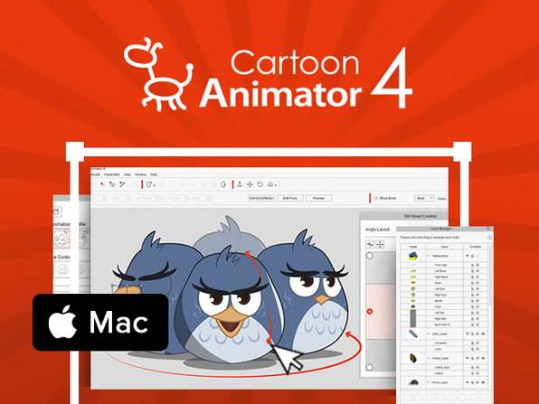The Complete Cartoon Animator 4 PRO: Mac Bundle