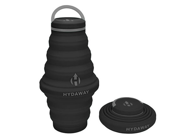 Hydaway 25oz Collapsible Water Bottle with Cap Lid
