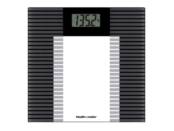 Health o Meter HDL601DQ-53 Glass Weight Tracking Scale - Product Image