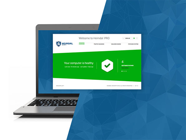 Heimdal Security Pro for PC: 3-Yr Subscription