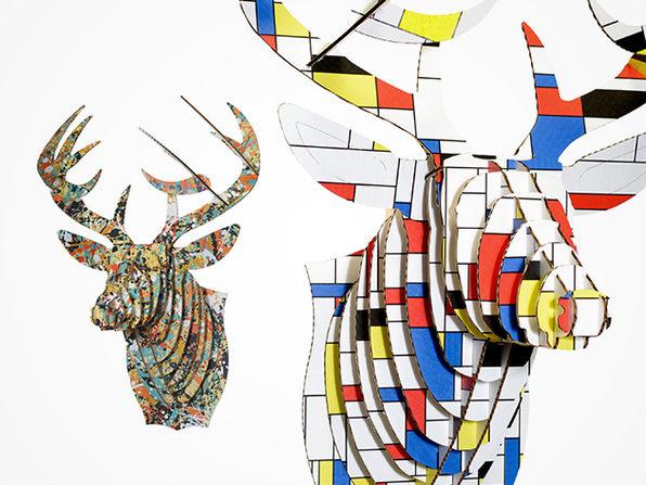 Modern Art Print Animal Head