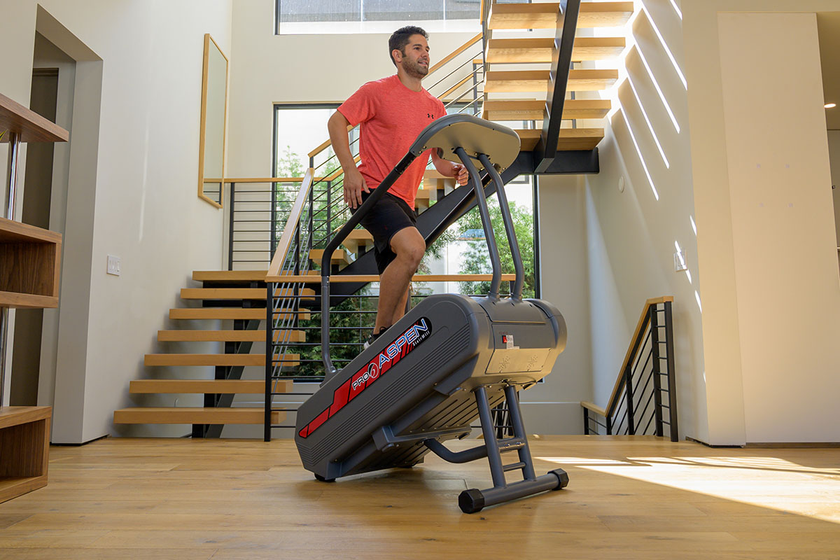 PRO 6 Aspen Stairmill Stair Climber, on sale for $2,999.00when you use the coupon code STAIRMILL496 at checkout