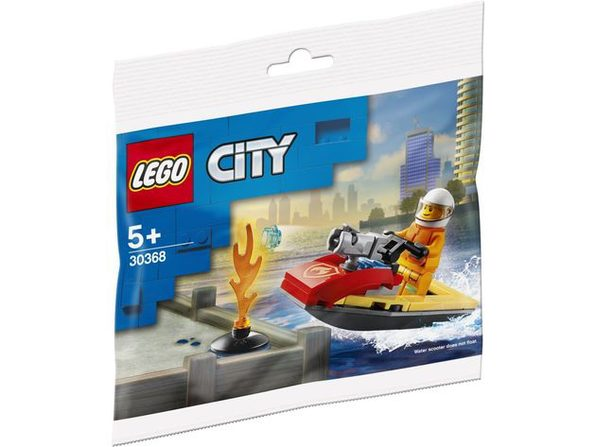 Lego City Fire Rescue Water Scooter