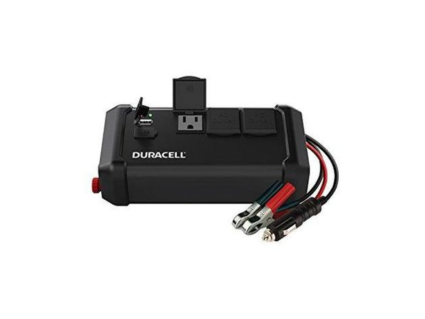 Duracell DRINV400TG High Power 400W Peak 320W Continuous Tailgate Inverter (Like New, No Retail Box)