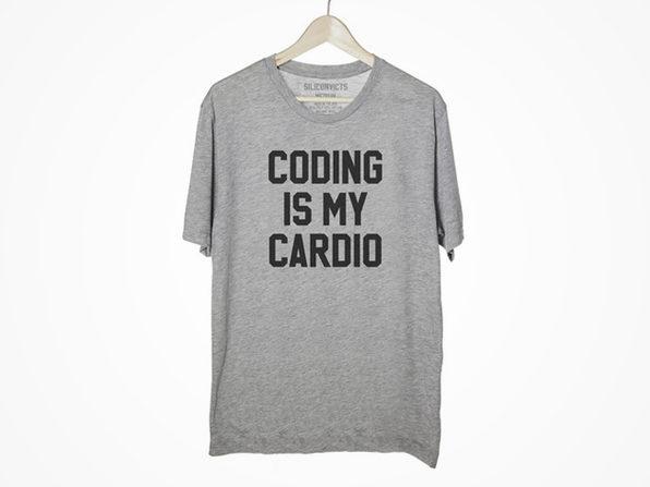 Coding Is My Cardio Shirt (Medium) - Product Image
