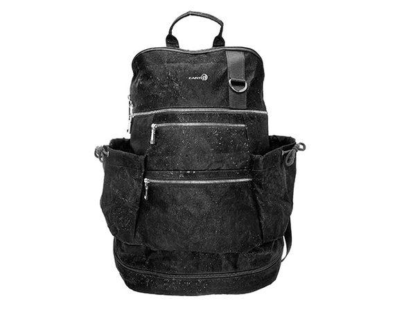 EARTH Cork Horta Backpack (Black)