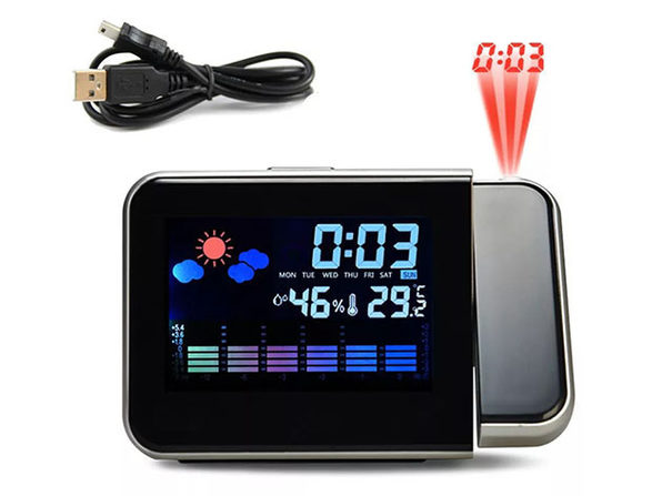 Projection Screen Clock