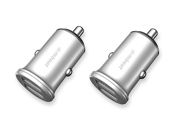 Power Dot Pro Rapid Car Charger: 2-Pack