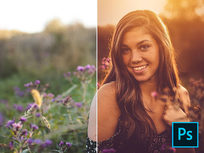 Photoshop Fall Edits For Outdoor Portraits & Landscapes - Product Image
