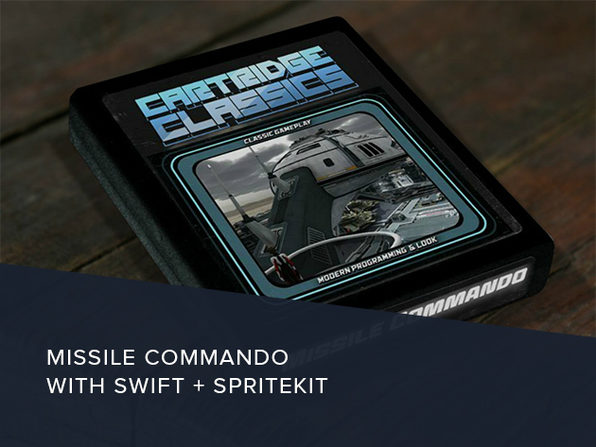 Missile Commando with Swift & SpriteKit - Product Image