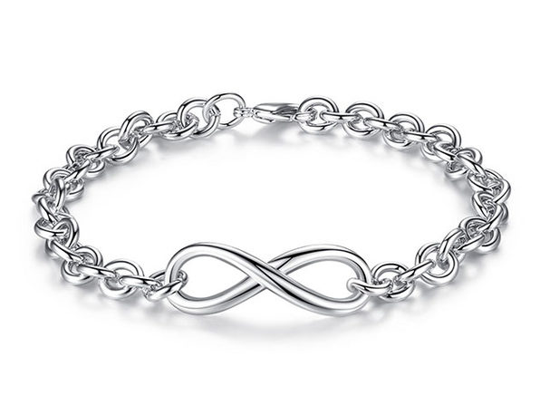 Infinity Multi-link Bracelet 2-Pack - Product Image