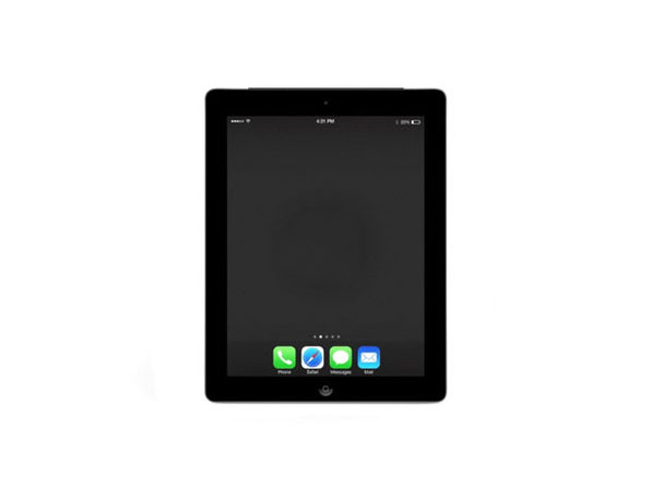 "Apple iPad 4 9.7"" 16GB - Black (Certified Refurbished)"