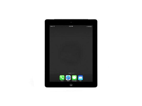"Apple iPad 4 9.7"" 16GB - Black (Certified Refurbished)"