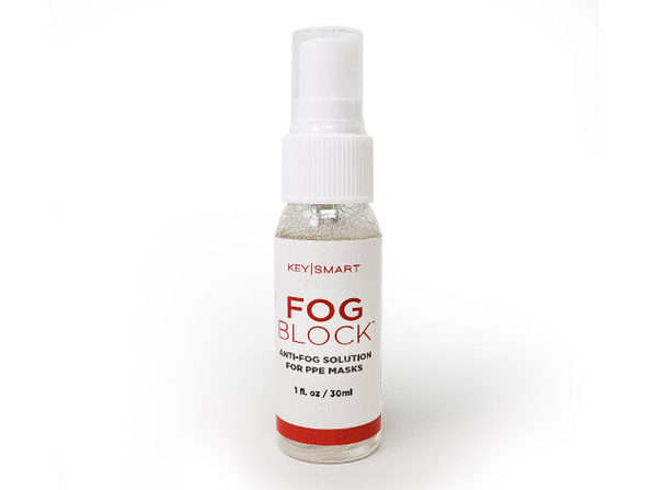 FogBlock™Anti-Fog Solution for PPE Masks & Glasses (4-Pack)