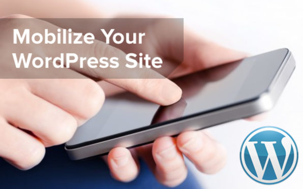 Mobile Marketing for your WordPress Site - Product Image