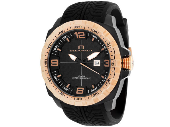 Oceanaut Men's Racer Black Dial Watch - OC1111 - Product Image