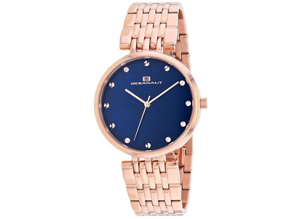 Oceanaut Women's Aerglo Blue MOP Dial Watch - OC2204 - Product Image