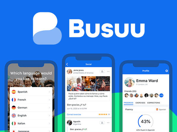 Busuu Language Learning Premium Plus: Lifetime Subscription