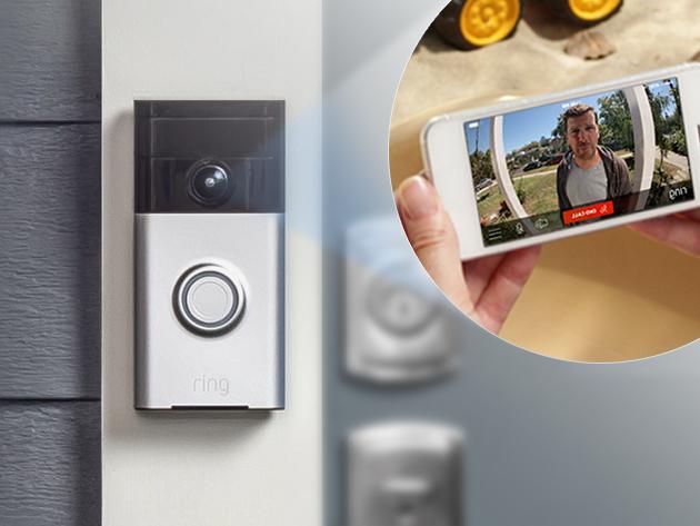 Ring Video Doorbell Stacksocial