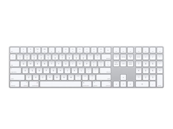 Apple Magic Keyboard with Numeric Keypad - Silver (Refurbished)