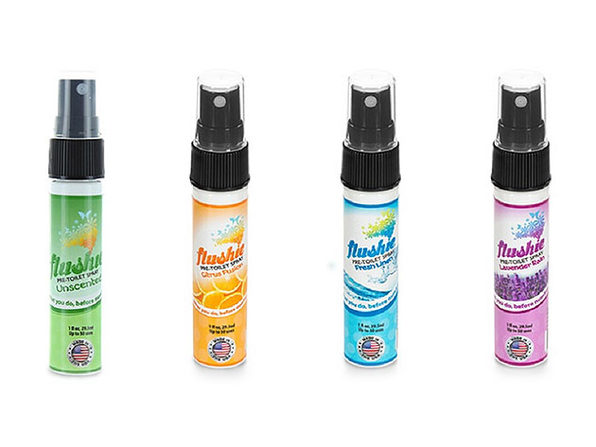 Flushie Pre-Toilet Spray: 4-Pack