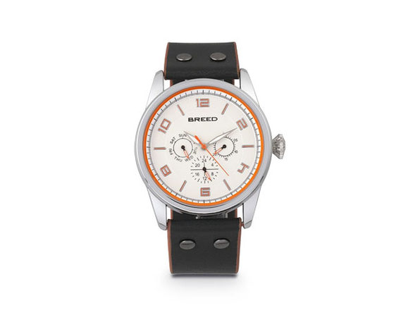 Breed Rio Leather-Band Watch