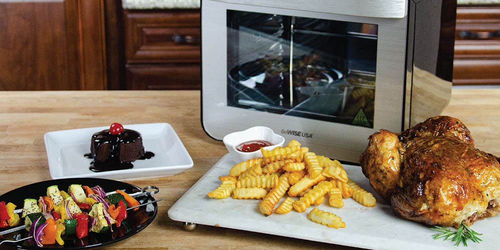 GoWISE USA® 11-in-1 Programmable 12.7QT Electric Air Fryer Toaster Oven, on sale for $159.99 (11% off)