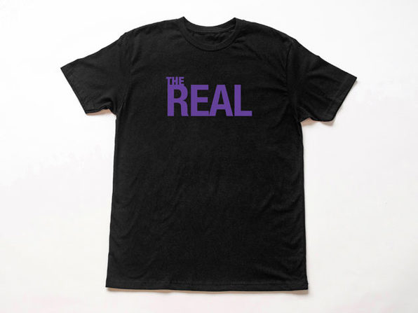 The Real Black T-Shirt (Large)