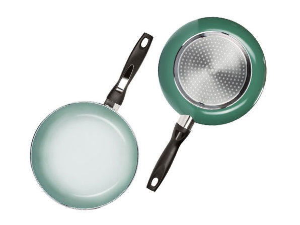 "Ceramic Coated Non-Stick 9.5"" Color Changing Pan"