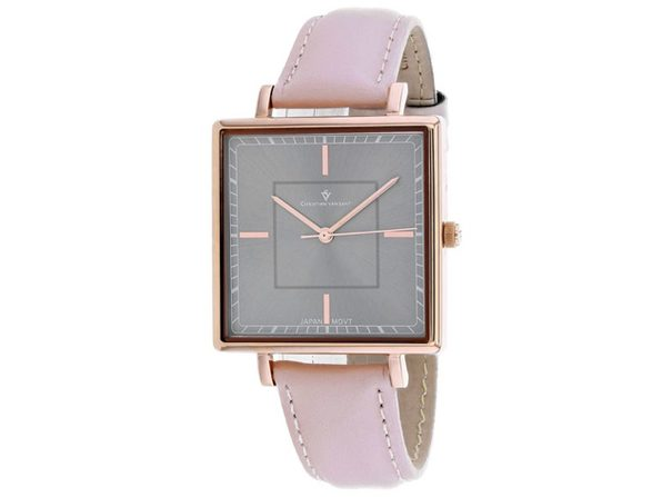 Christian Van Sant Women's Callista Grey Dial Watch - CV0415 - Product Image
