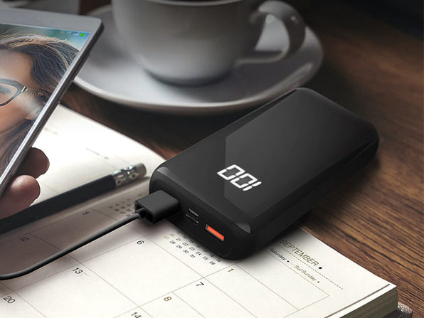 HyperGear Dual USB + USB-C Digital Power Bank (20,000mAh)