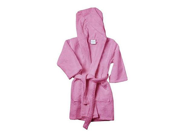 Alvare Luxury Kids Robe (Pink/Large)
