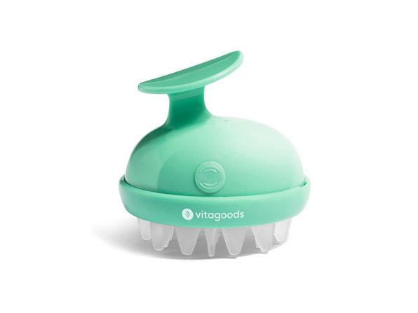 Scalp Massaging Shampoo Brush (Lucite Green)