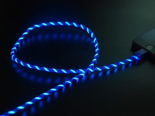Glowing MicroUSB Charging Cable