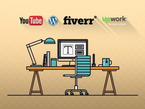 Freelancing with YouTube, WordPress, Upwork & Fiverr