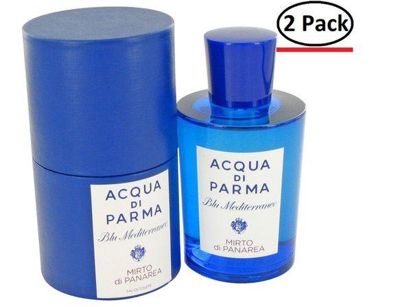 Blu Mediterraneo Mirto Di Panarea by Acqua Di Parma Eau De Toilette Spray (Unisex) 5 oz for Women (Package of 2) - Product Image