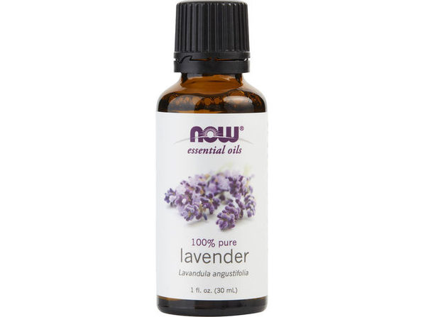 ESSENTIAL OILS NOW by NOW Essential Oils LAVENDER OIL 1 OZ for UNISEX ---(Package Of 5)