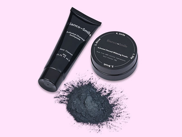 Activated Charcoal Teeth Whitening Powder: 2-Pack