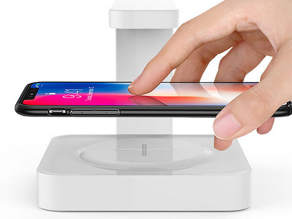 UV Sanitizing Lamp & Wireless Charger