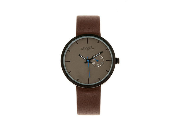 "Simplify ""The 3900 Series"" Men's Quartz Watch (Model 3906)"