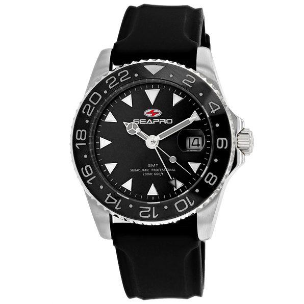 Seapro Men's Black Dial Watch - SP0121