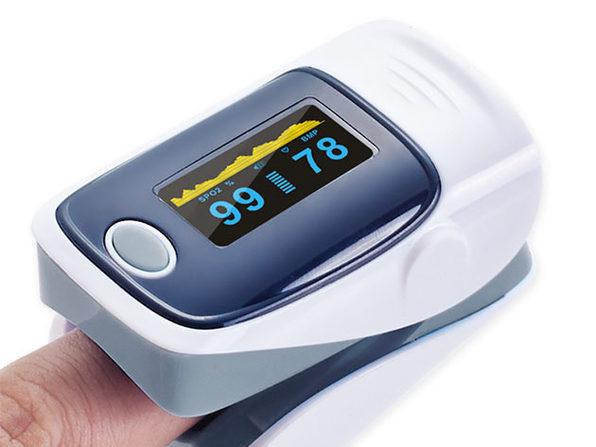 Fingertip Pulse Oximeter (Gray/4-Pack)