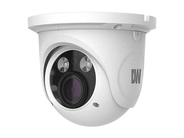 MEGApix 4MP turret IP camera with 3.3~12mm vari-focal lens with remote auto-focus and video analytics and IR, Digital Watchdog DWC-MTT4WIA - Product Image