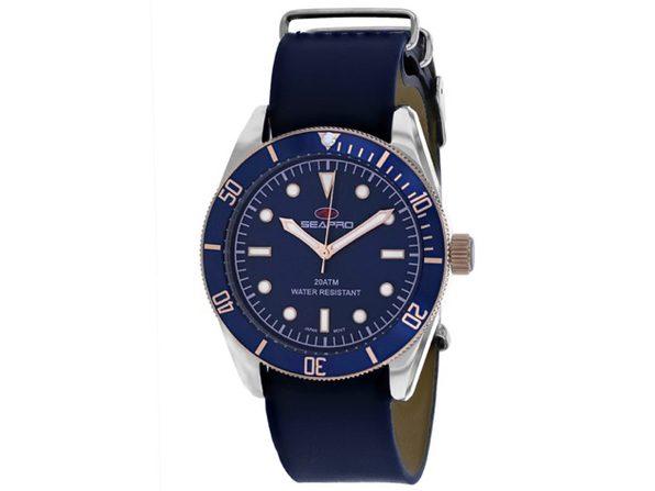 Seapro Men's Revival Blue Dial Watch - SP0303