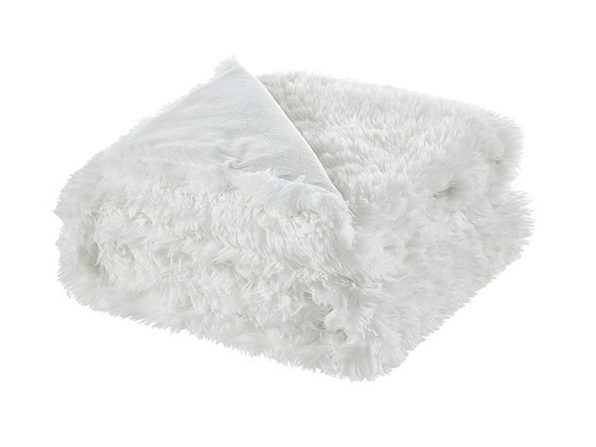 Cozy Tyme Noel Faux Lamb Fur Throw