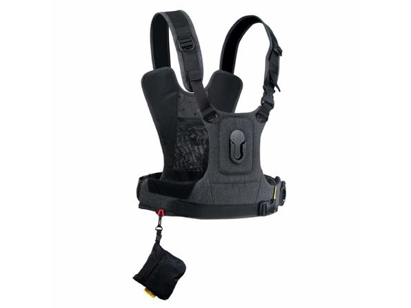 Cotton Carrier 3744 CCS G3 Harness System for One Camera Patented Twist - Grey (Distressed Box)