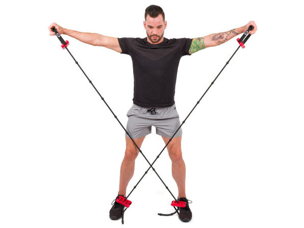 Pro-Workout Handle & Band Combo